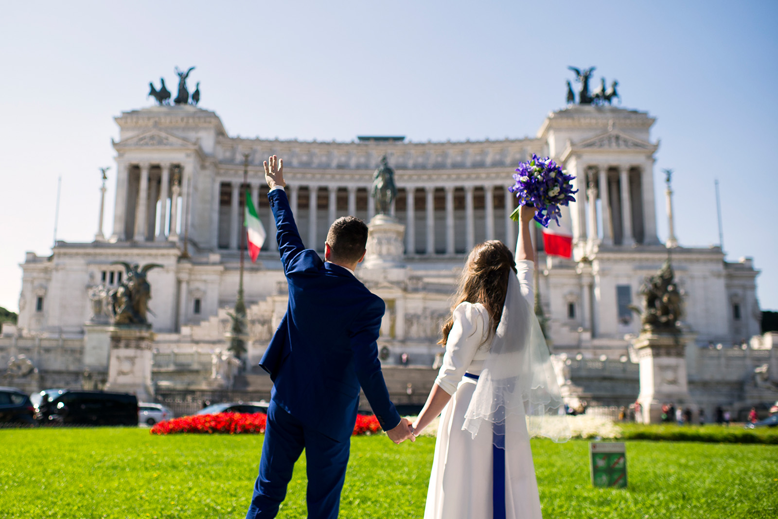 Свадьба Анны и Александра в Риме и Тиволи