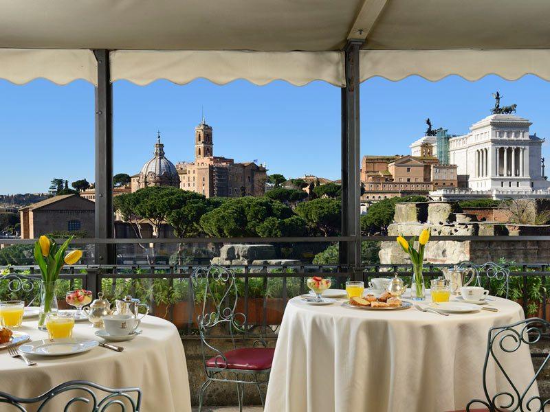 Символическая свадьба в самом сердце Рима