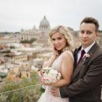 Свадьба Елизаветы и Анатолия в Риме и Тиволи