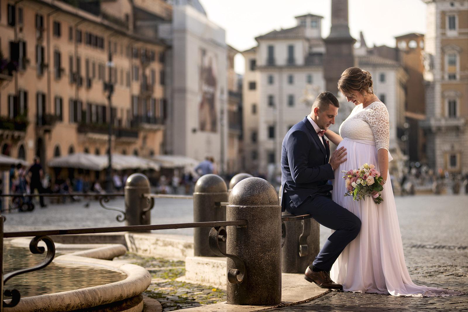 Свадьба Натальи и Ильи в Риме и Тиволи