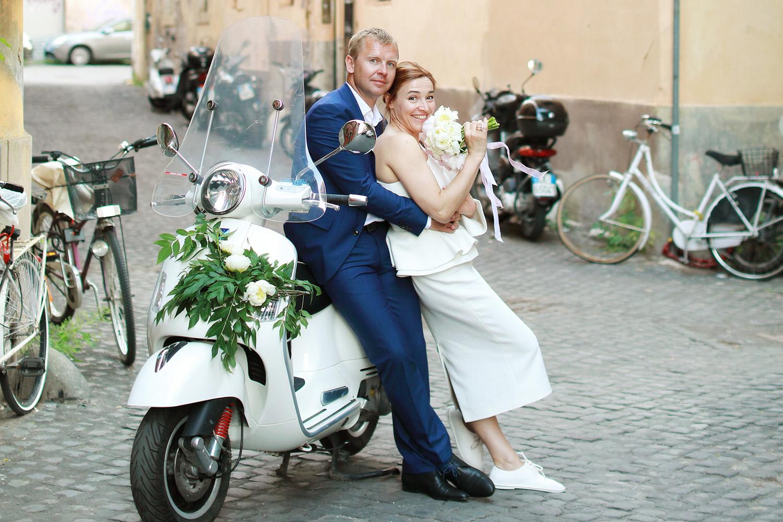 Марина и Анатолий. Годовщина свадьбы в стиле «Римских каникул»