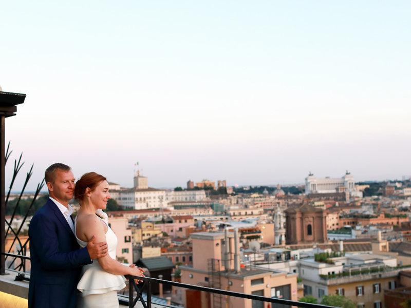 Обновление свадебных клятв в стиле Римских каникул
