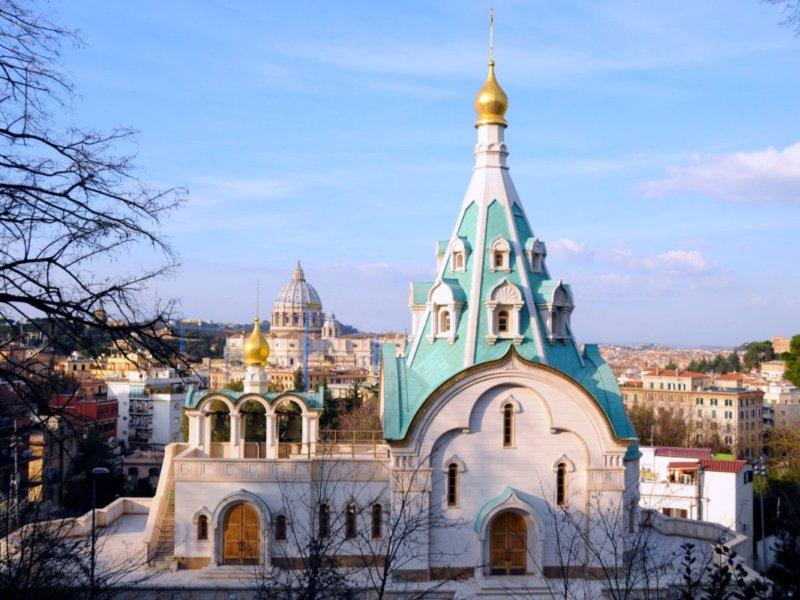 Православный храм Святой Великомученицы Екатерины в Риме
