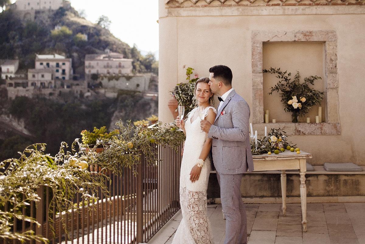 Свадьба Антонины и Олега на Сицилии. Счастье в лимонных и оливковых тонах