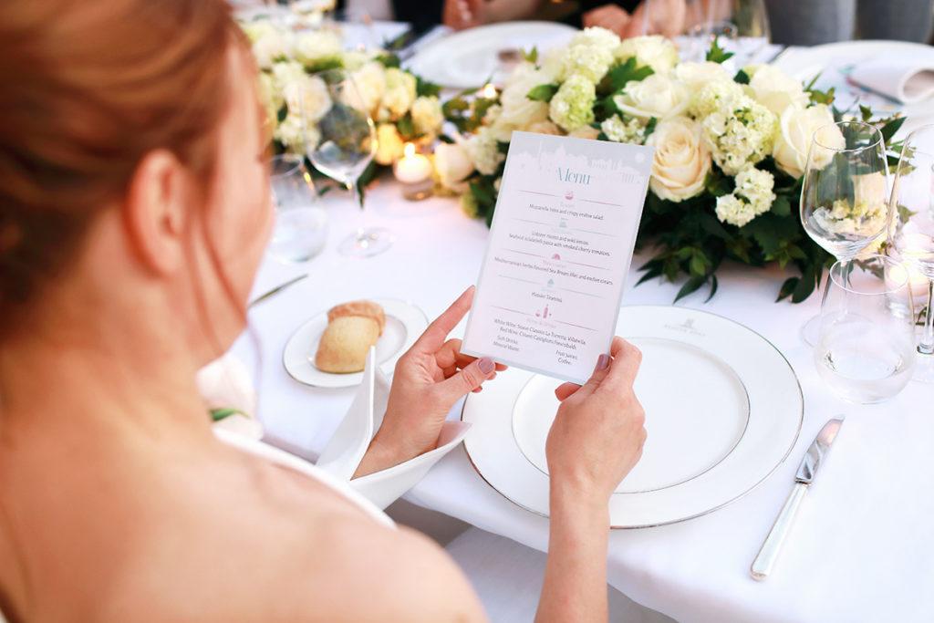 Свадьба в Италии с банкетом и гостями