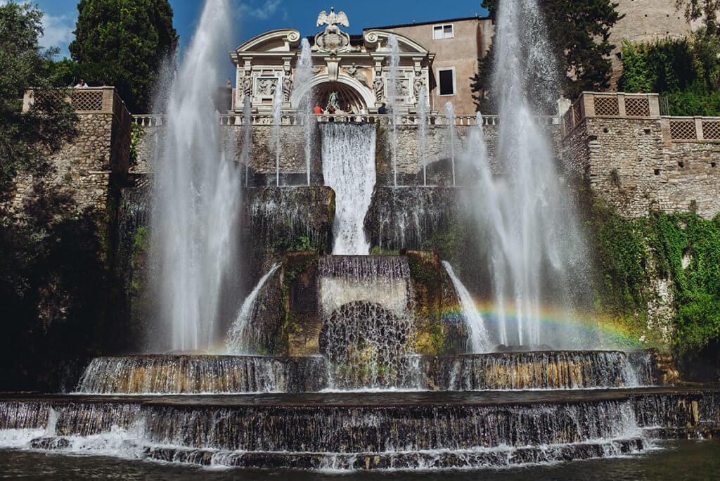Музыкальный фонтан вилла д'Эсте