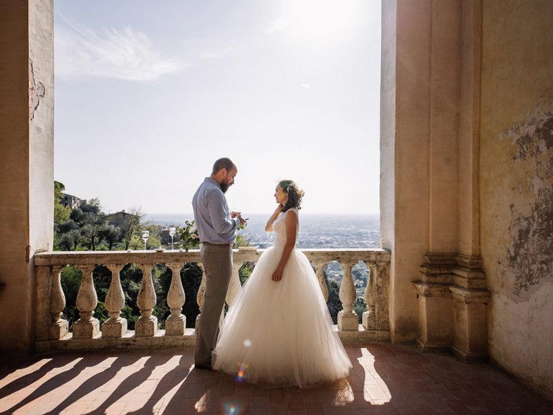Свадьба на вилле д'Эсте