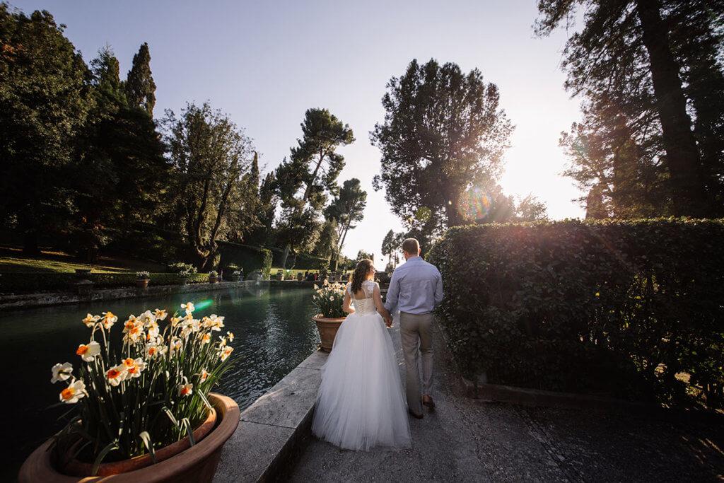 Свадьба на вилле эпохи Возрождения