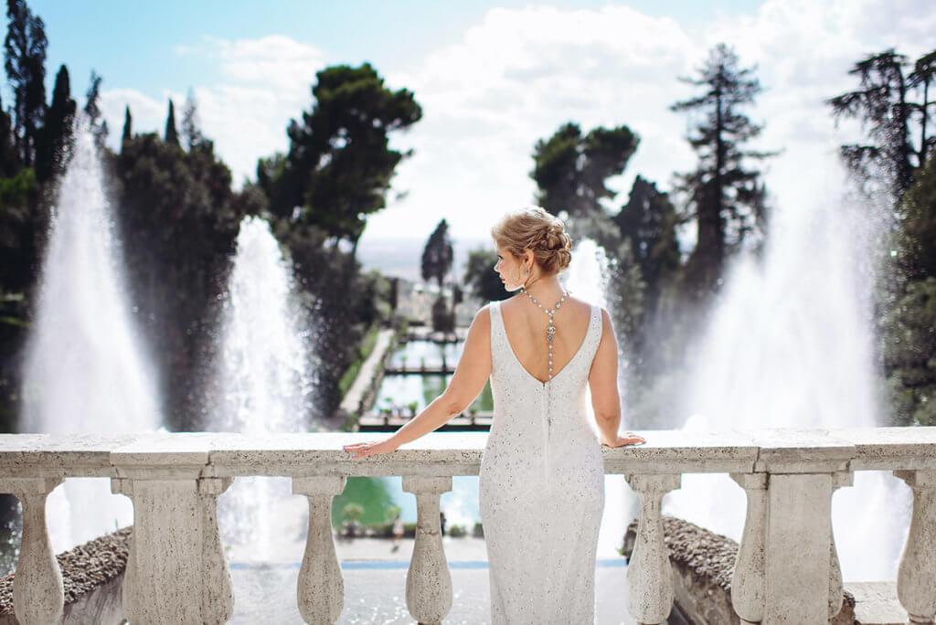 Символическая свадьба на вилле д'Эсте
