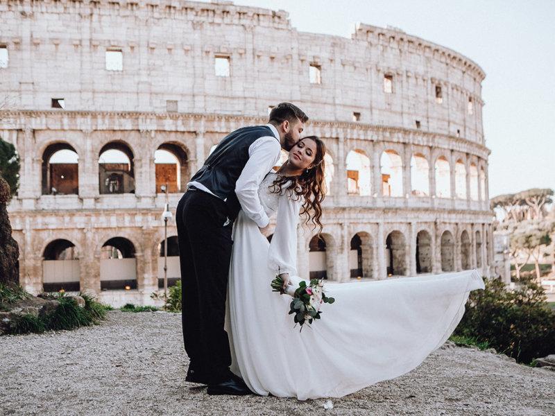 Cвадьба в Италии Ирины и Булата
