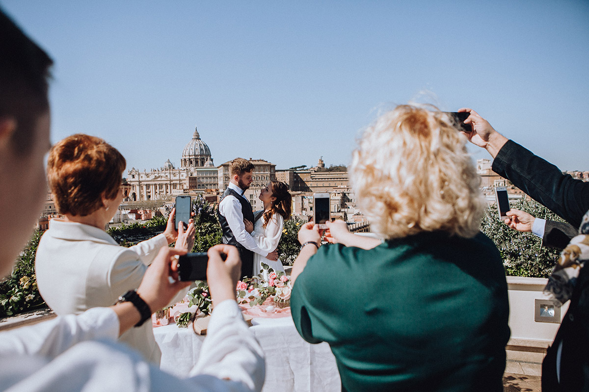 свадьба в италии символическая церемония