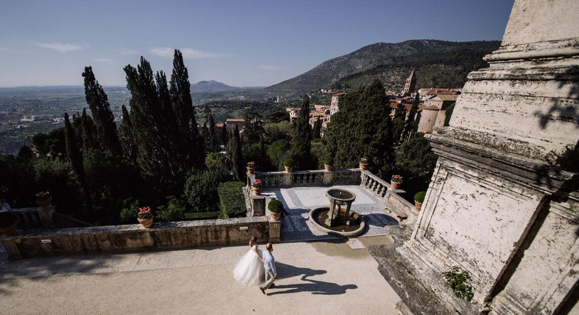 Свадьба Анастасии и Константина в Италии