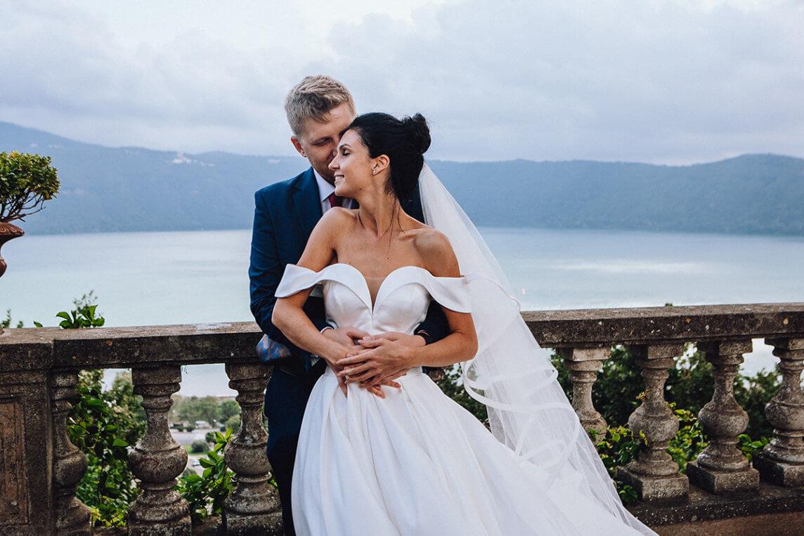 Свадебная церемония на вилле