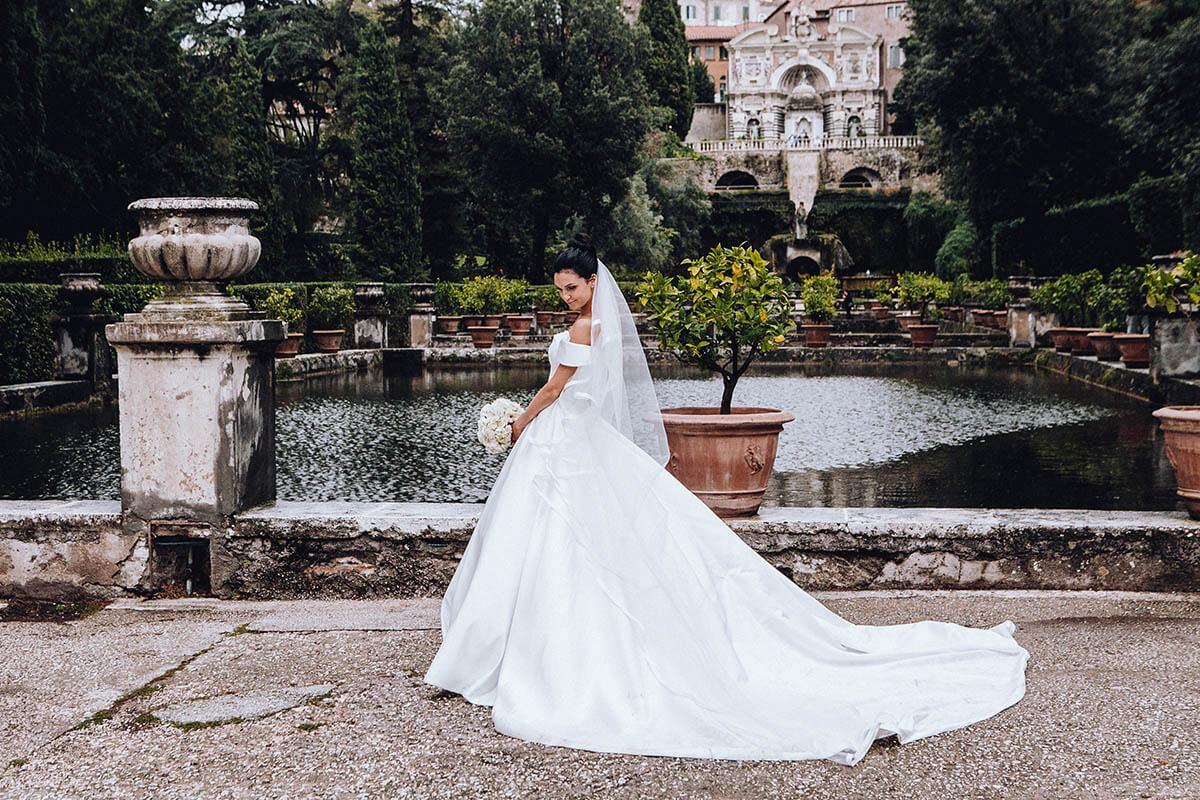Свадьба в Риме Сергея и Марины