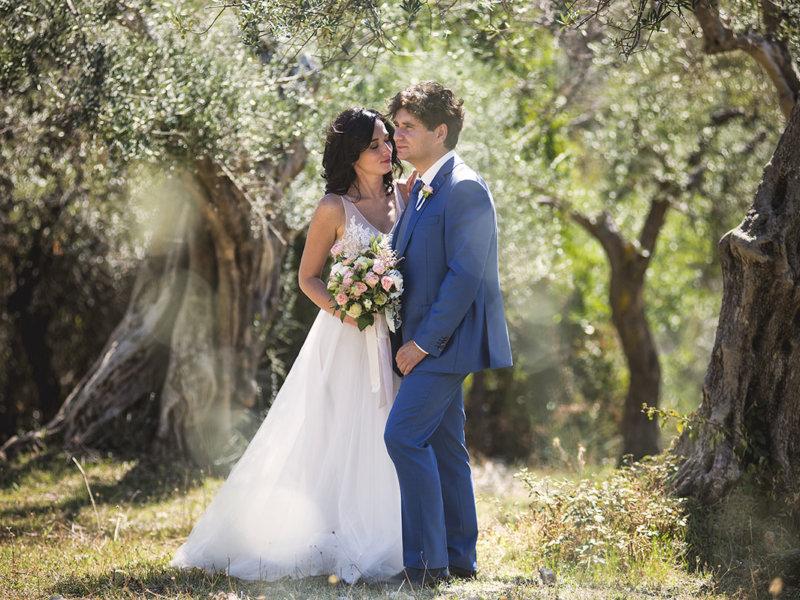 Свадьба Натальи и Александра в Риме и Тиволи