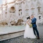 Свадьба в Риме Алины и Андрея