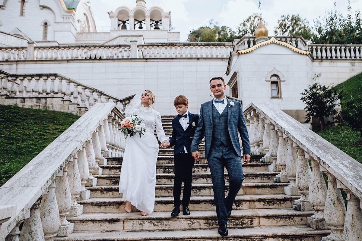 Венчание Ольги и Николая в Риме в православном храме Святой великомученицы Екатерины