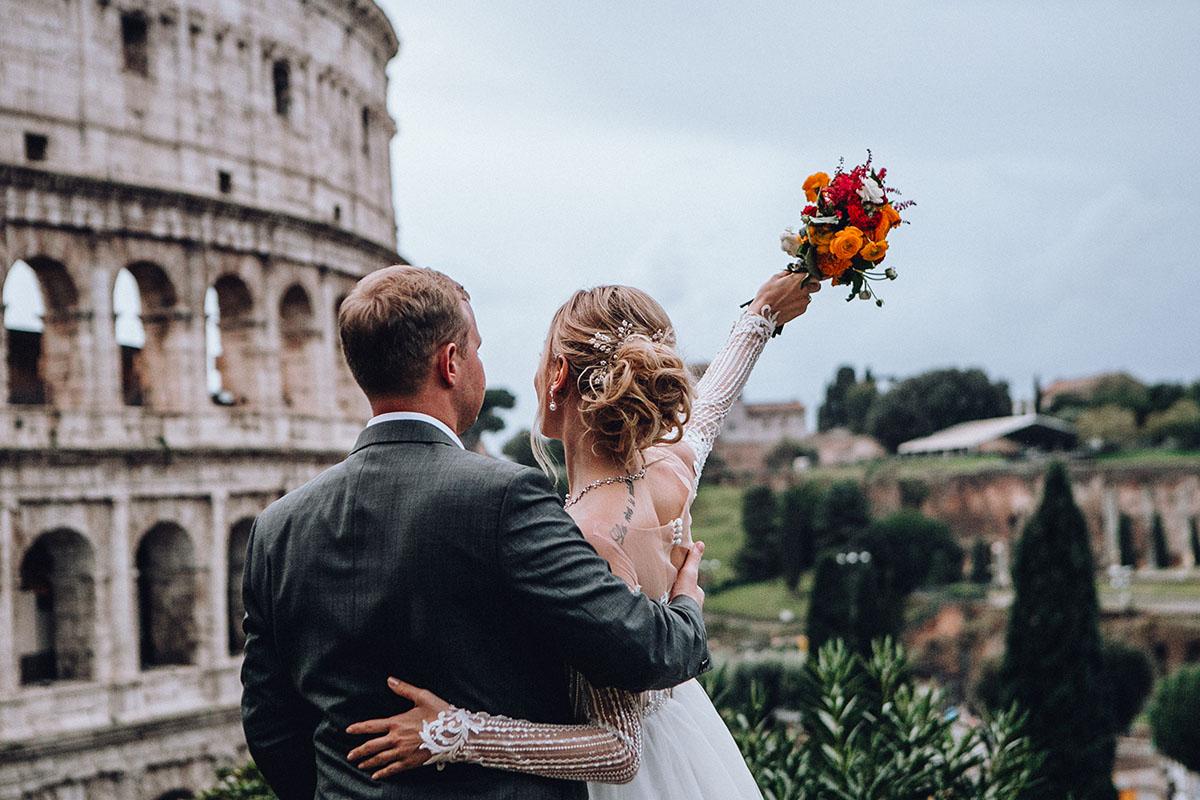 Свадьба Анны и Виталия. Итальянские каникулы любви