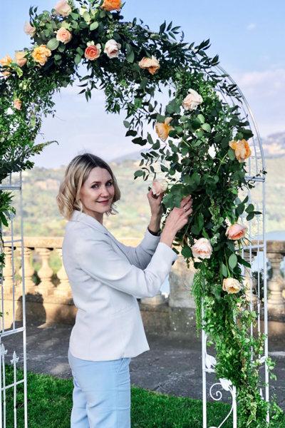 Руководитель свадебного агентства WowItaly Weddings Марина Сорокоумова-Гуллифа
