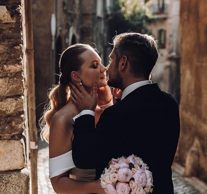 Свадьба в Риме Евгении и Андрея