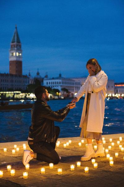 Предложение руки и сердца в Венеции wowitaly